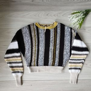 FREE PEOPLE  show me love pullover sweater B1